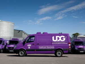 UDG, transport fleet / warehouse photography