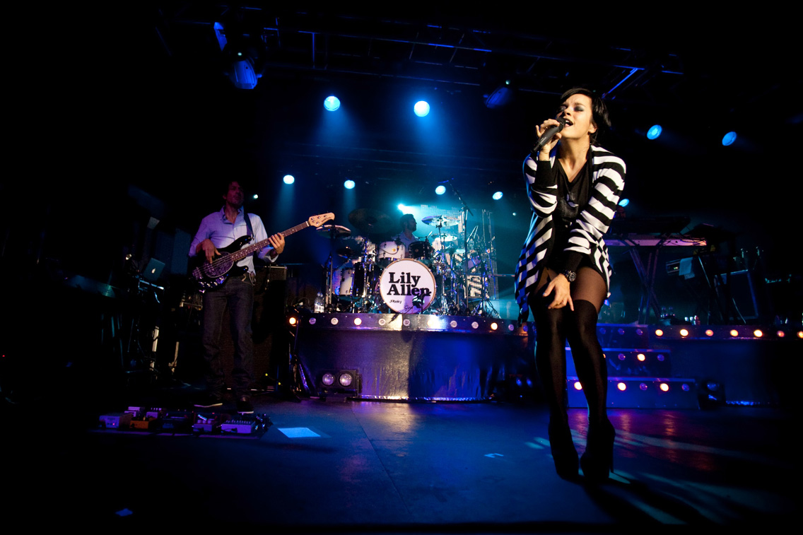 Lily Allen, Sheffield 02 Academy, November 2009