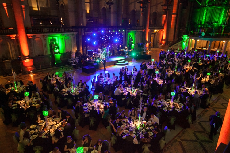 Corporate dinner and event photography